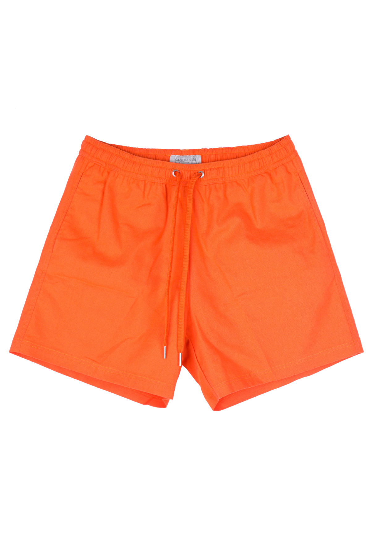 #G007 Linen short pants  (orange)