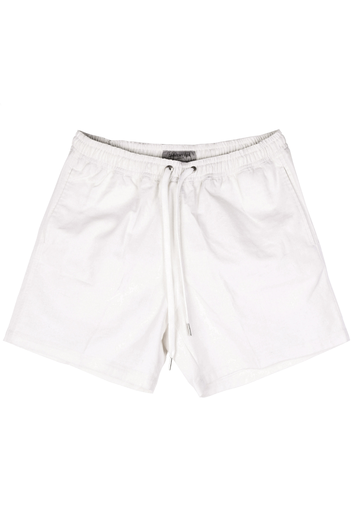 #G006 Linen short pants  (white)