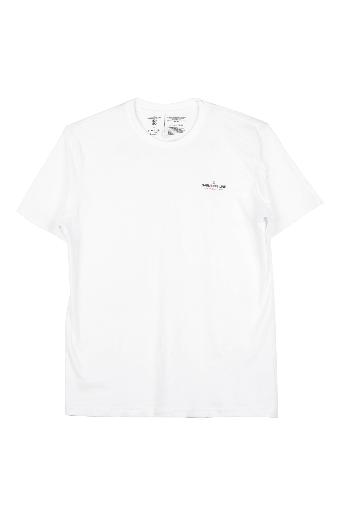 #G014 GML-BACK Logo T-shirt (White)