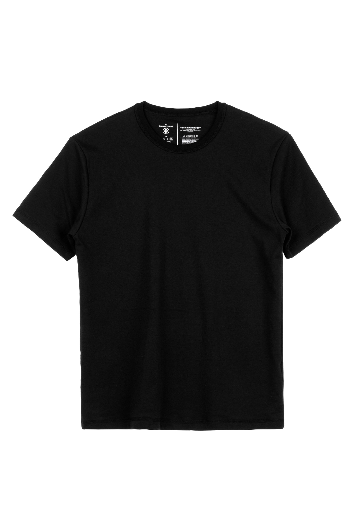 #G018 GML-Semi over Fit T-shirt (black)
