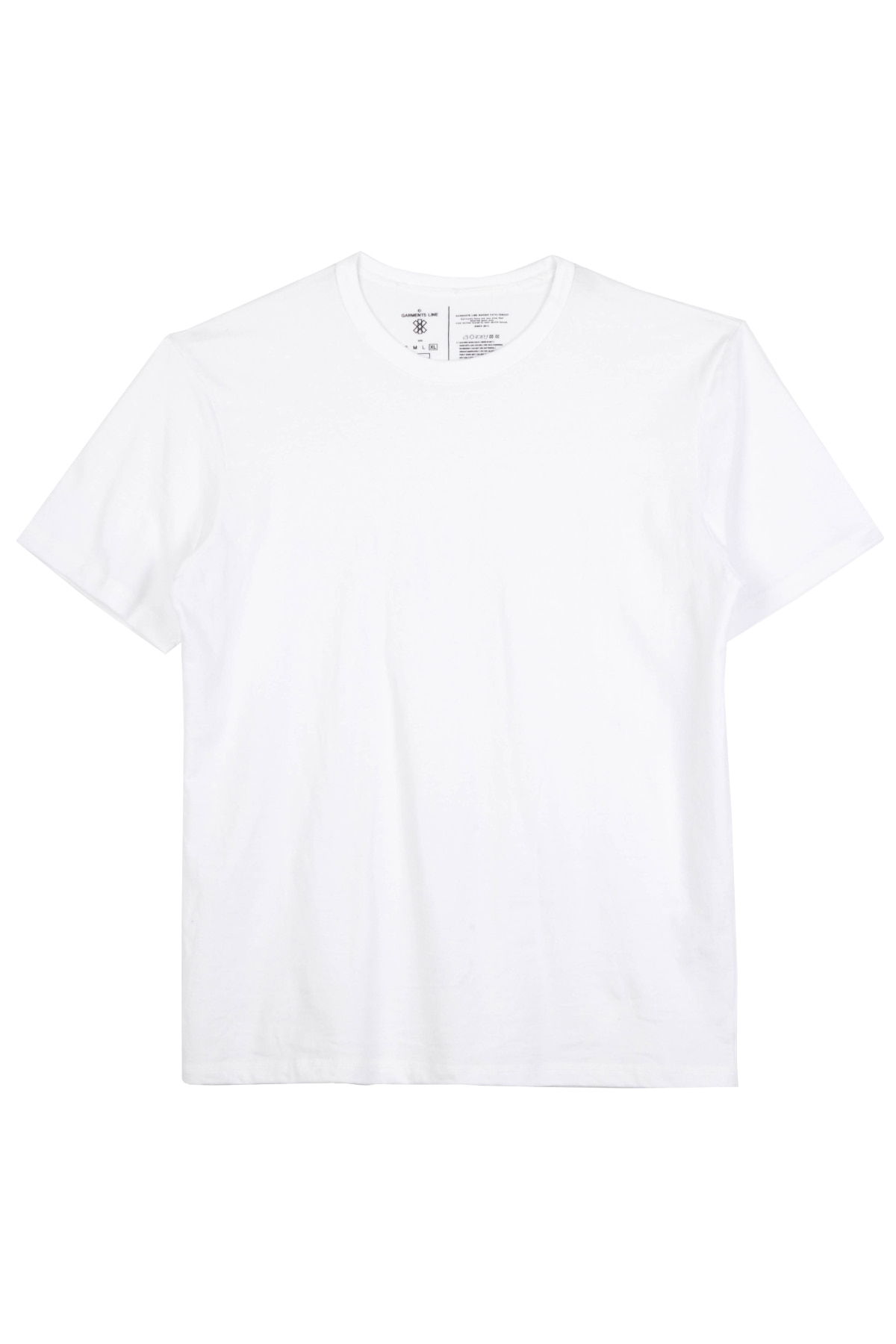 #G019 GML-Semi over Fit T-shirt (white)