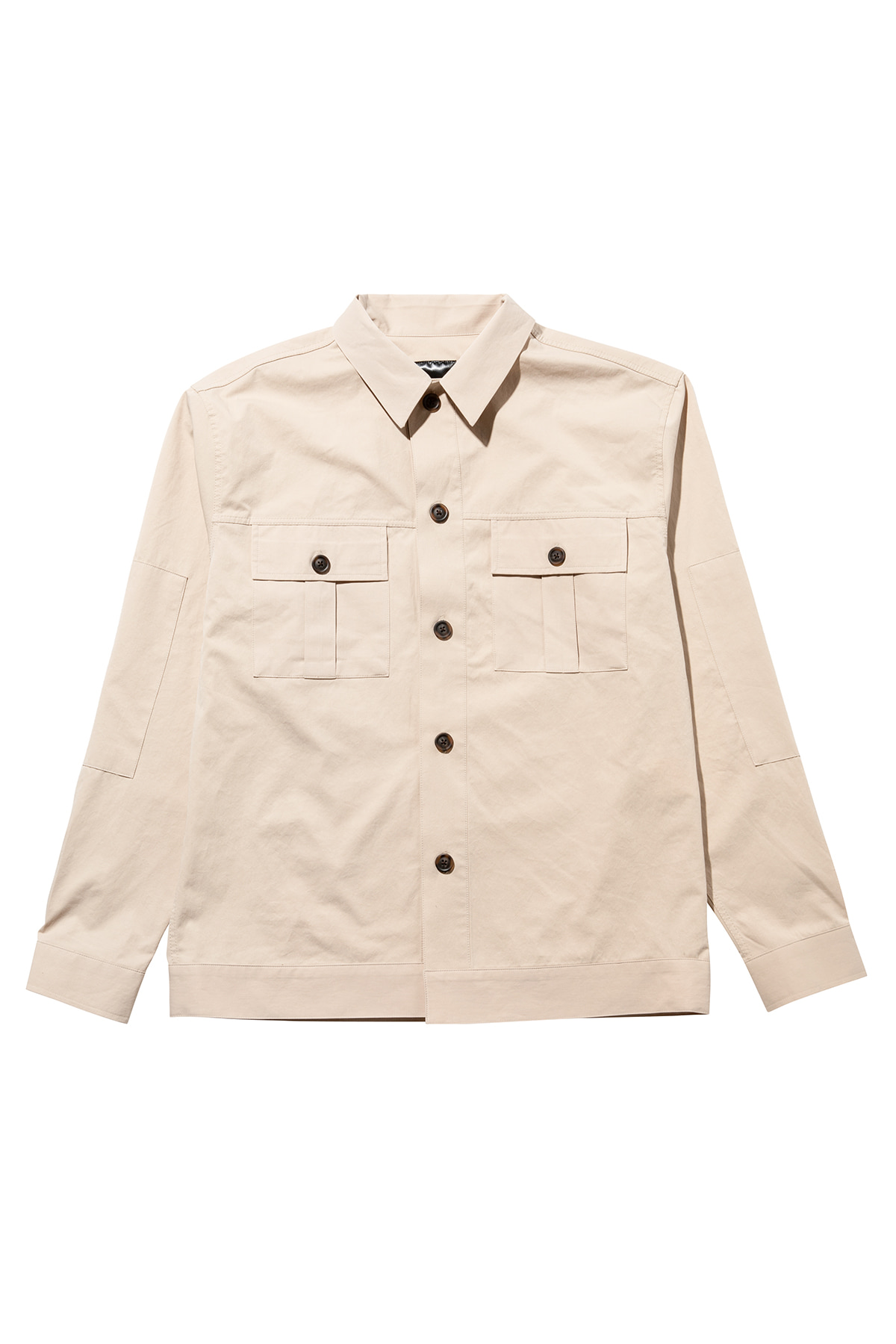 페이탈리즘 #jp36 Fatigue pocket shirt jacket (beige)