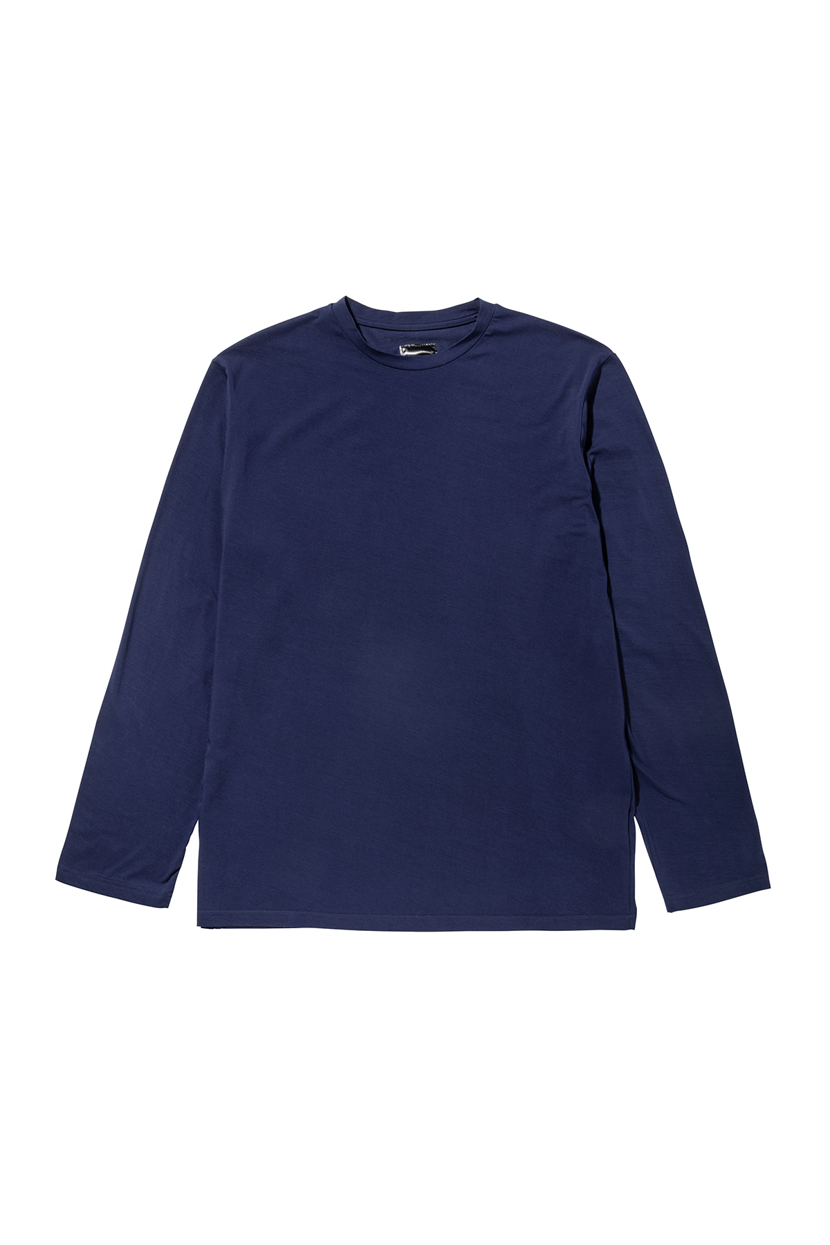 Basic long sleeve T-shirt (navy) #jp28