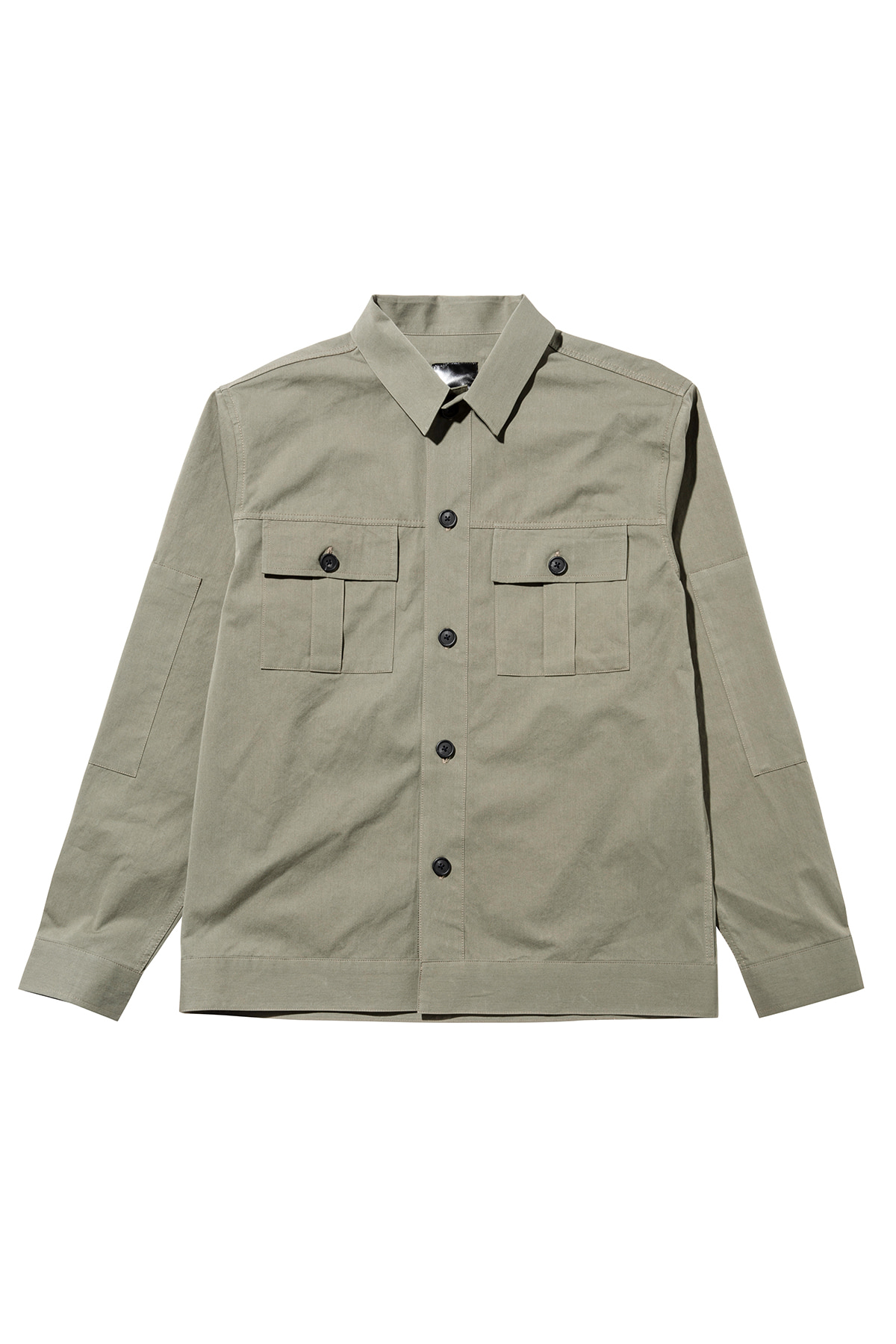 페이탈리즘 #jp37 Fatigue pocket shirt jacket (kakhi)
