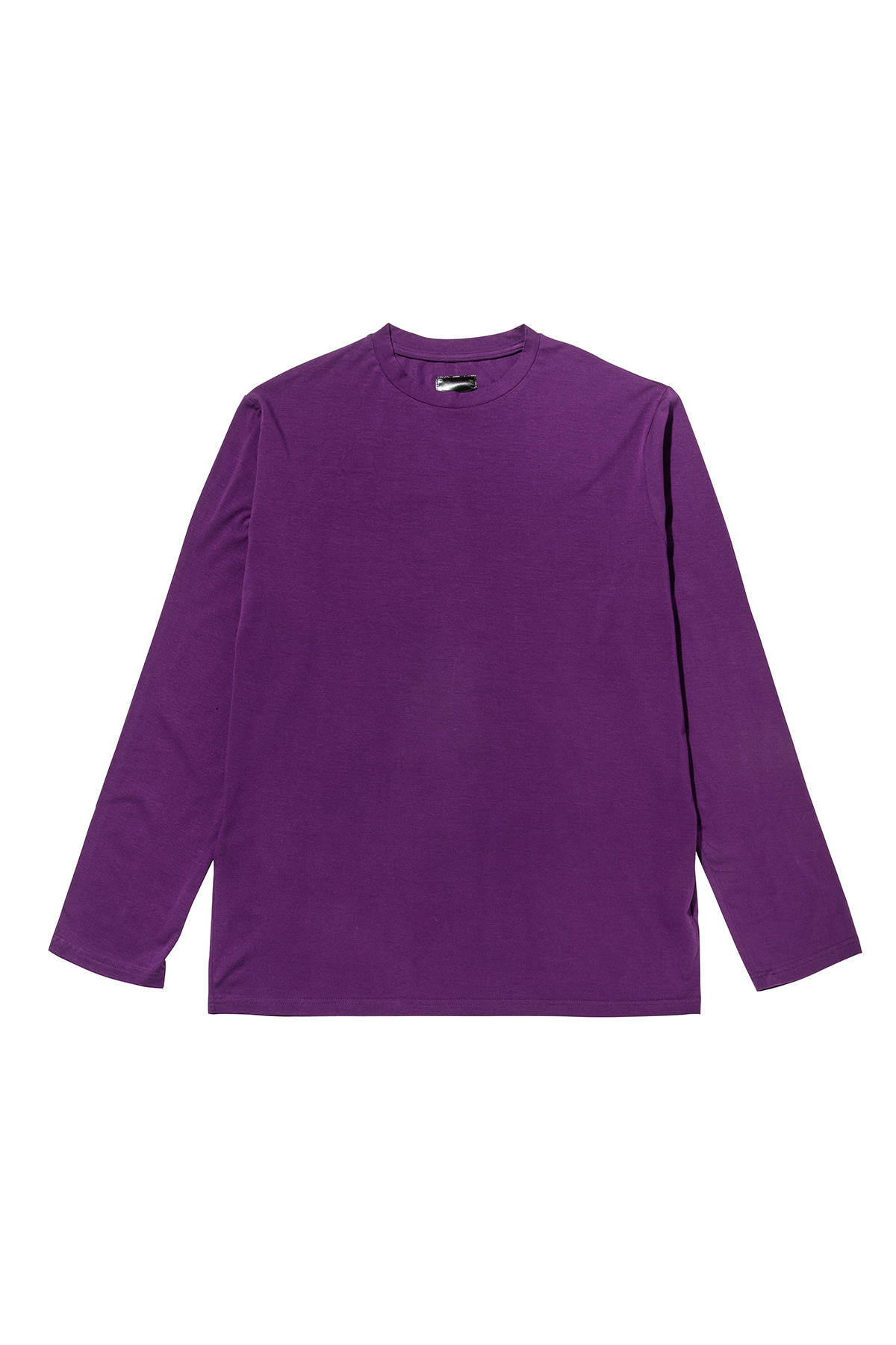 Basic long sleeve T-shirt (purple) #jp29