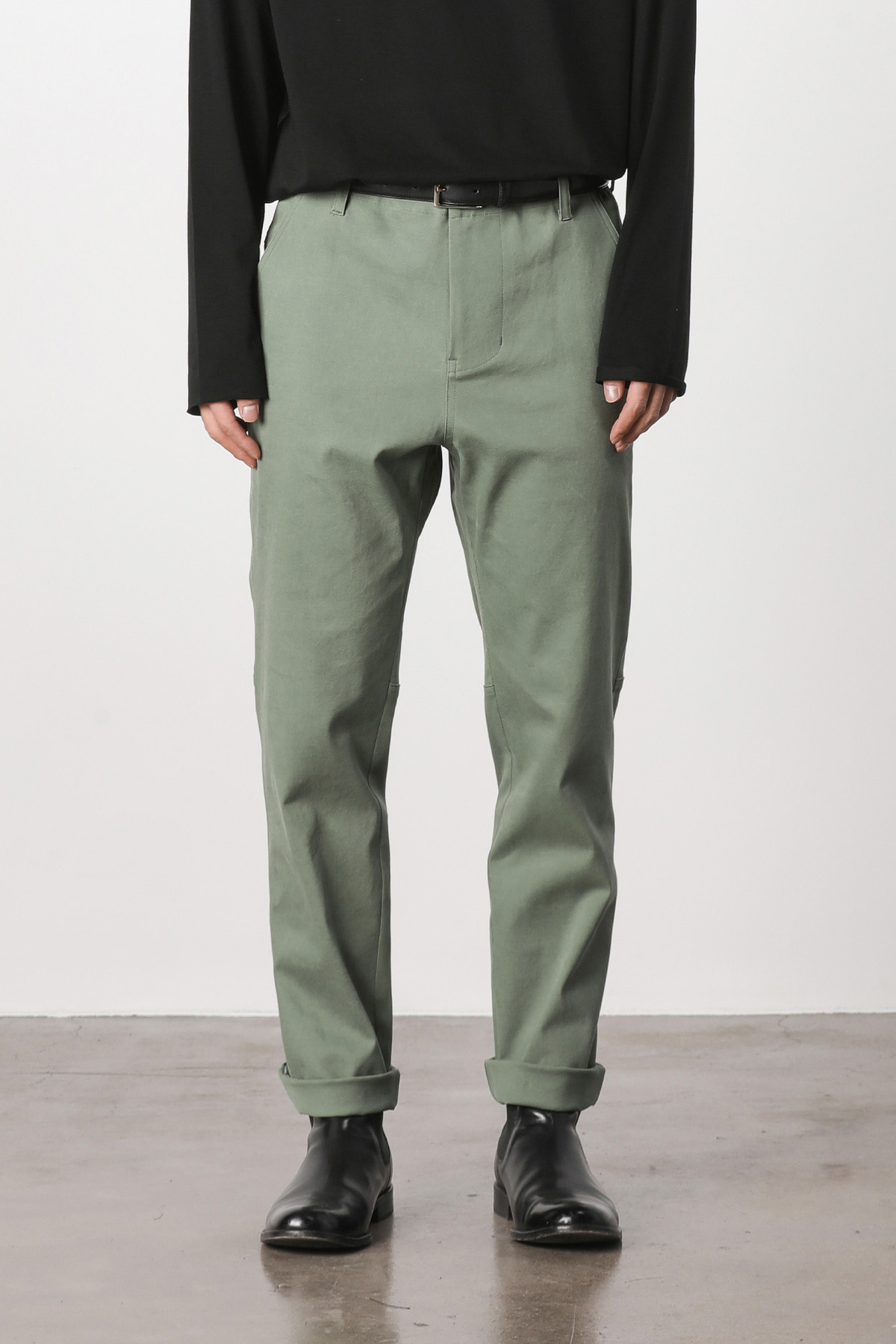 페이탈리즘 #jp03 Fatigue hound tapered pants (kakhi)