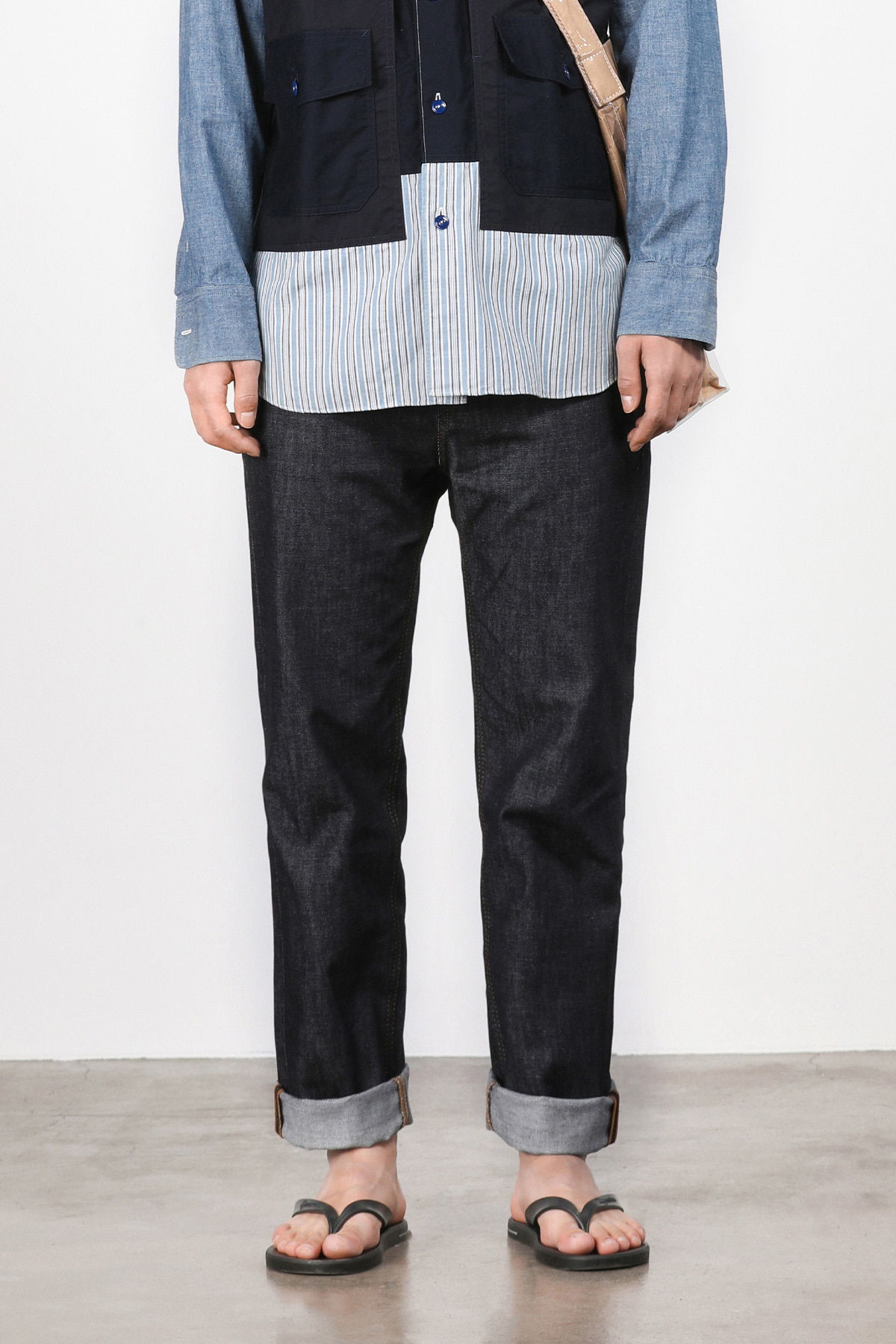 페이탈리즘 #0196 Minimal denim standard fit