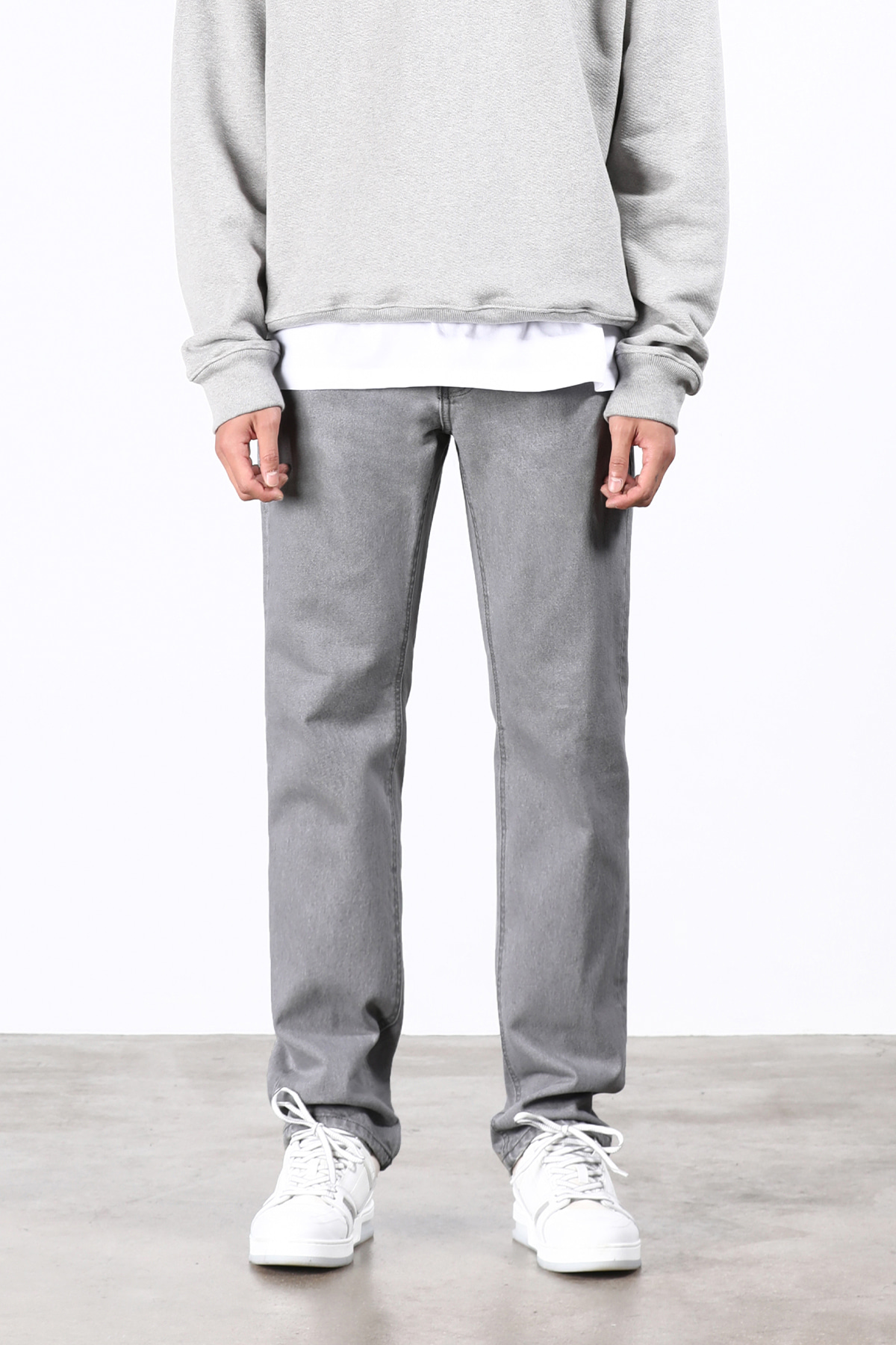 페이탈리즘 #0216 Monogrey straight fit