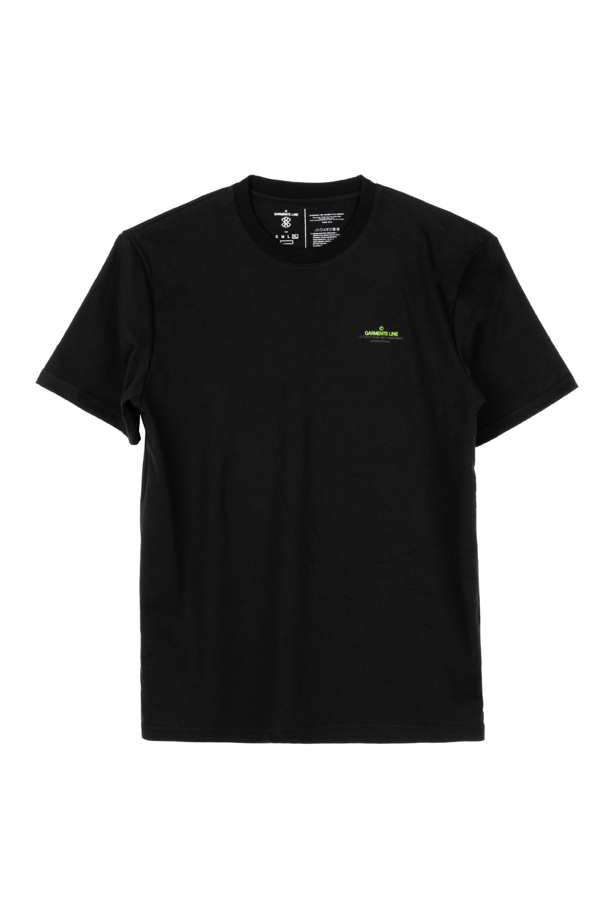 #G015 GML-Logo T-shirt (Black)
