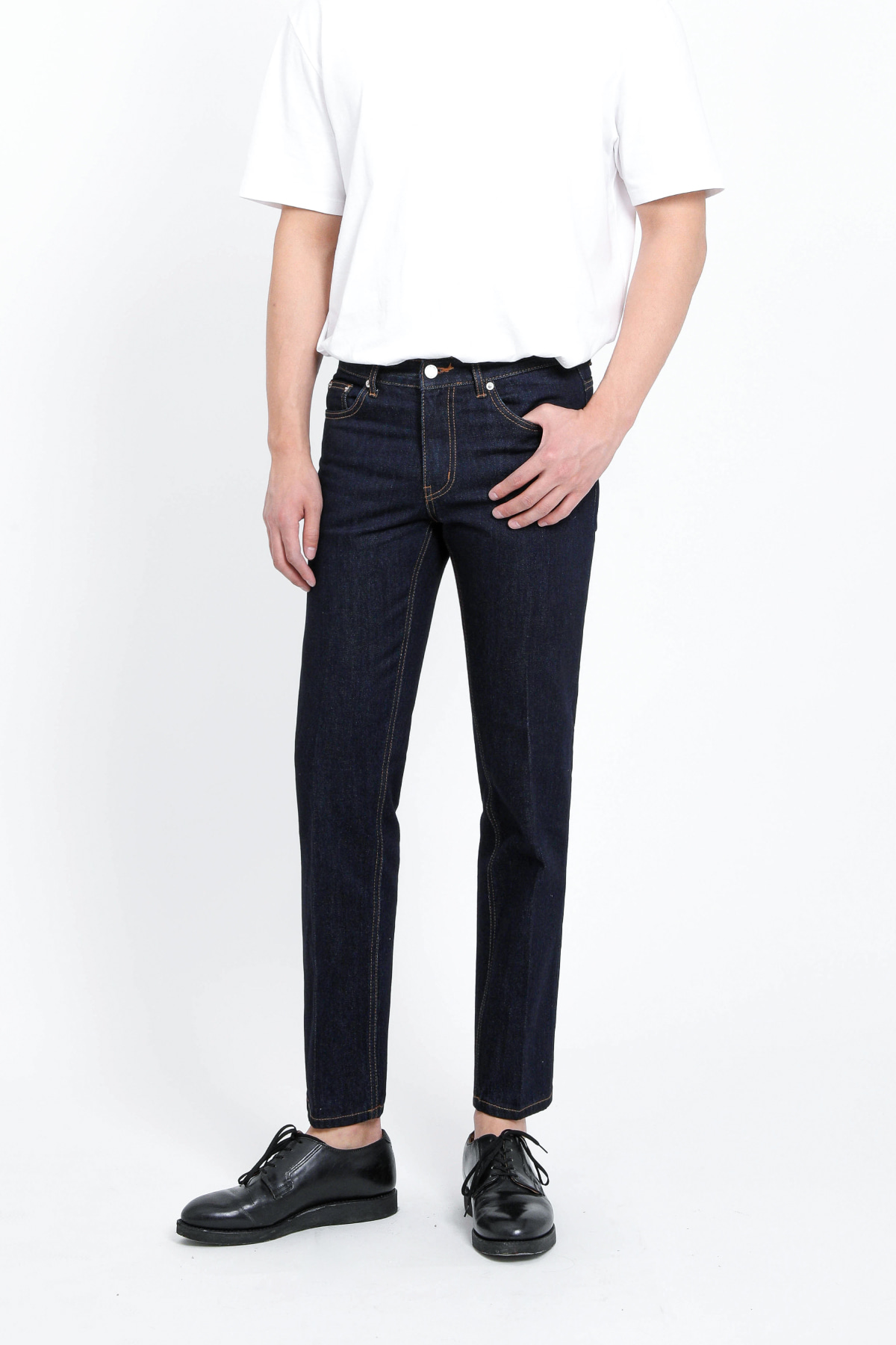 #0128 nonwashed jp slim standard fit