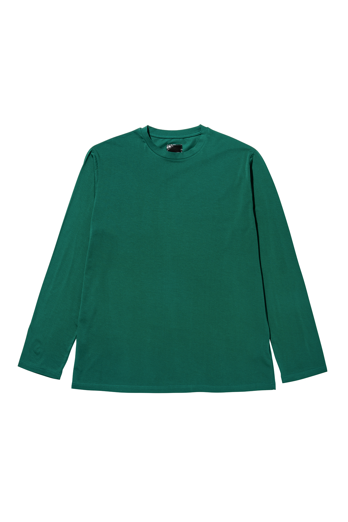 Basic long sleeve T-shirt (green) #jp30