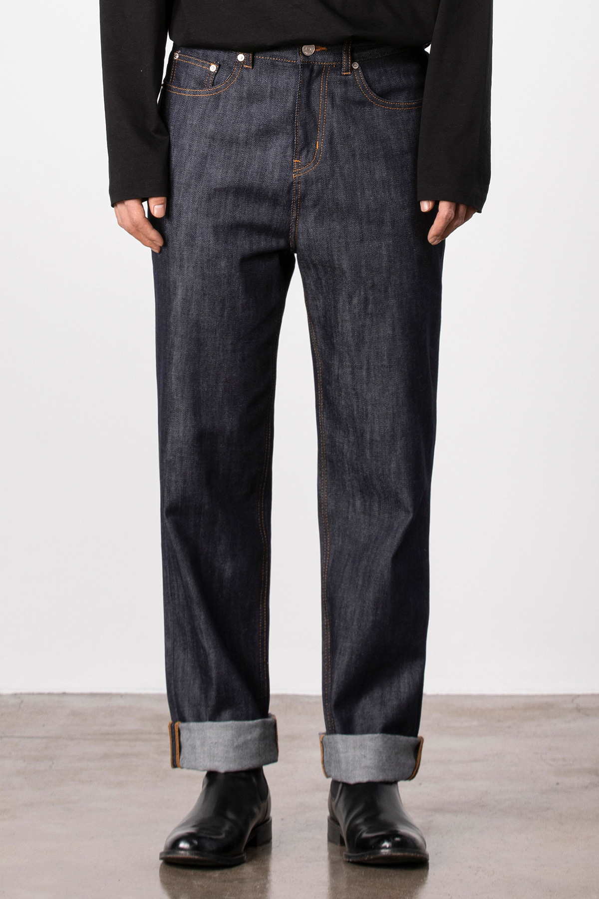 #0187 Nonwashed wide fit
